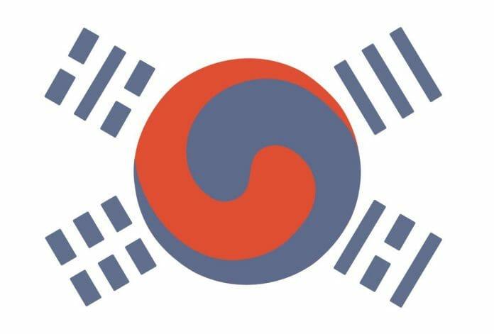 Antiga Bandeira Da Coreia