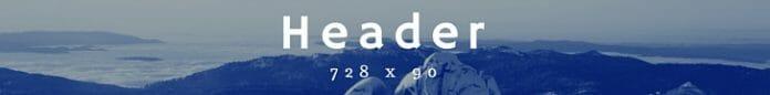 Banner Header 728X90
