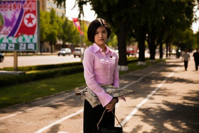Estudante Em Pyongyang.