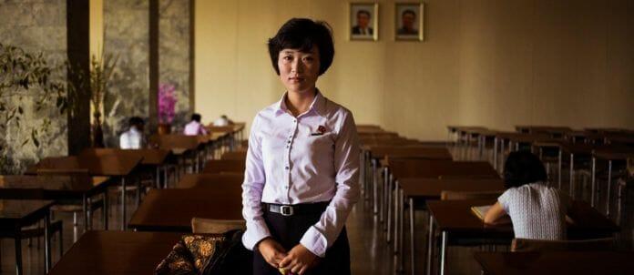 Em Uma Biblioteca, Em Pyongyang.