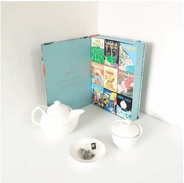 Osulloc's Tea - Caixa Com Saquinhos De Chá Da Ilha De Jeju.