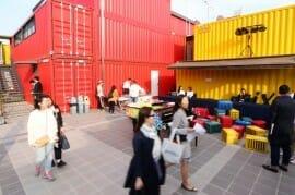 Visão Externa Do Novo Complexo De Artes, Plataforma Changdong 61, Em Dobong-Gu (Yonhap)