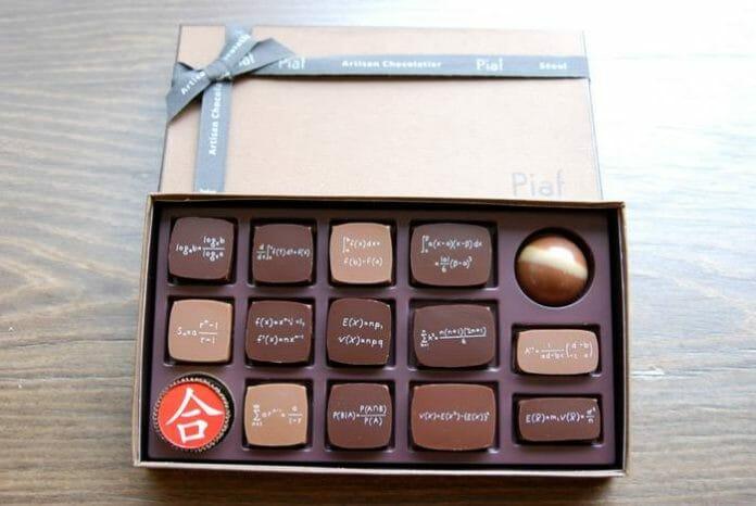 Chocolates Matemáticos Oferecem Doce Alívio Para Estudantes Coreanos