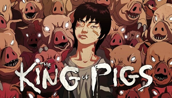 The-King-Of-Pigs - Capa