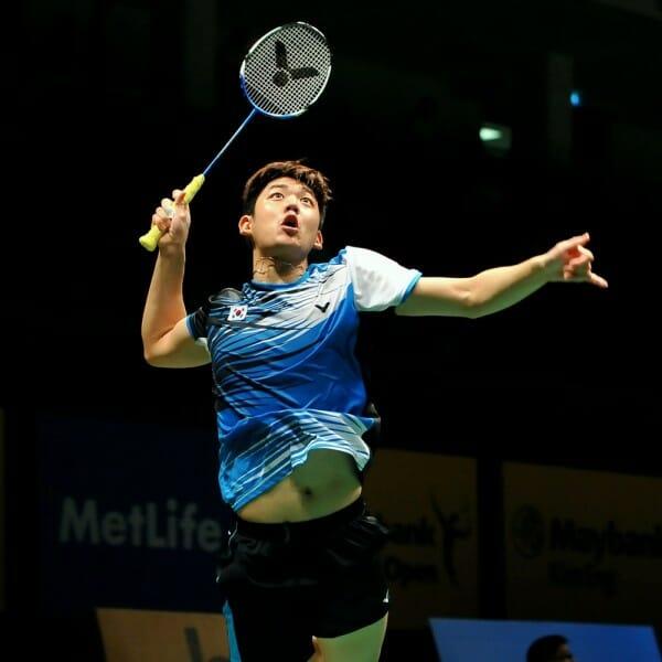 O Jogador De Badminton Lee Young-Dae