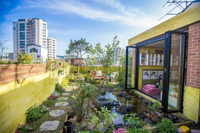 Residência Para Aluguel De Temporada Em Seul, Próxima A Loja De Departamento Lotte, Oferece Um Espaço Aconchegante E Belo.