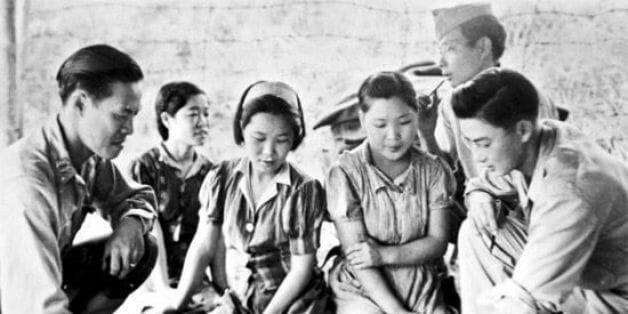Mulheres De Conforto Retratadas Na Época Da Guerra