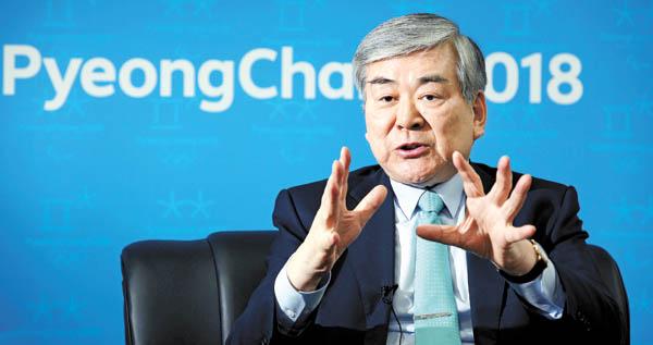 Cho Yang-Ho É Também Presidente Do Comitê Organizador Das Olimpíadas De Inverno De Peyongchang 2018.