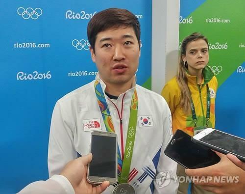 O Atirador Kim Jong-Hyun. Foto: Yonhap News