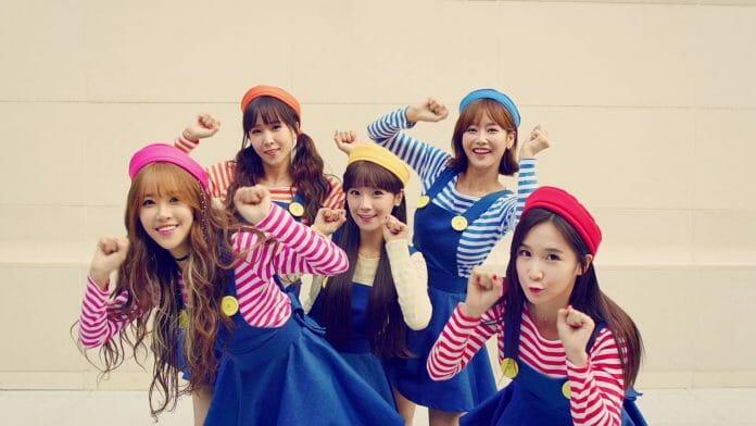 A Girl Band Coreano Crayon Pop.