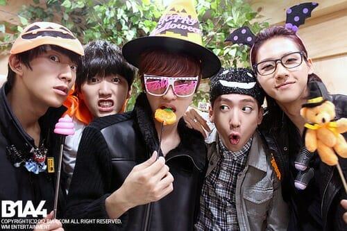 Fonte: B1A4 Weibo