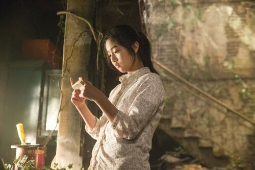 A Atriz Shin Eun-Soo Como Soo-Rin.