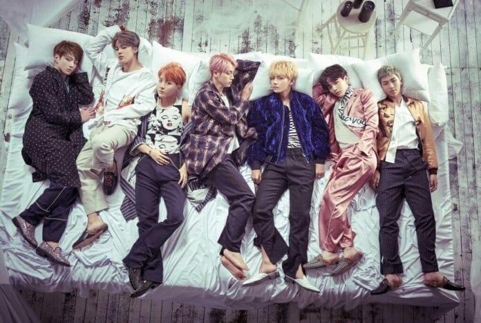 Grupo Bts Em Foto Conceitual Para O Álbum &Quot;Wings&Quot;. Foto: Big Hit Entertainment.