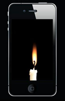 Entre Os Aplicativos Mais Comuns Se Encontram Os Aplicativos De Velas, Que Obviamente, São Apps Que Projetam Velas Nas Telas De Smartphones.