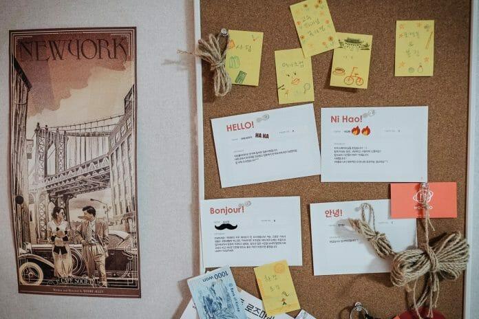Notas De Boas -Vindas Do Apartamento Sharehouse 22. Foto: Korea Exposé.