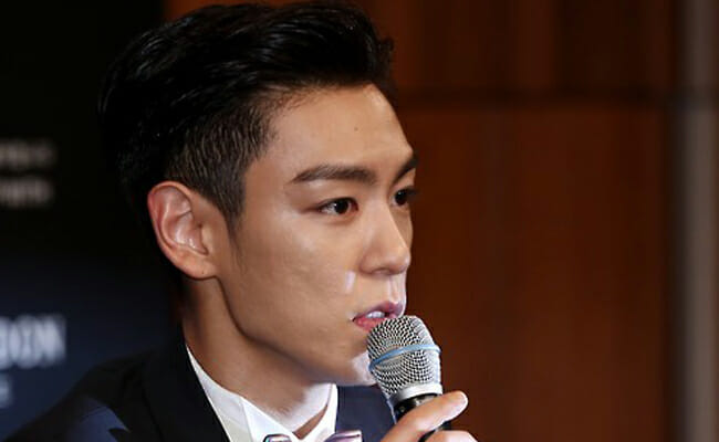 Rapper T.o.p Of K-Pop Boy Band Bigbang / Yonhap