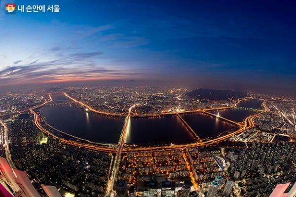 Vista Do Rio Han. Via: Seoul Metropolitan Government