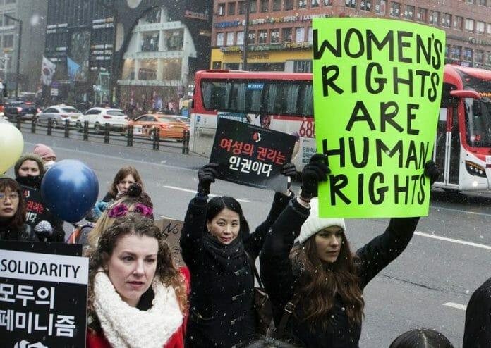 Womens March Foto