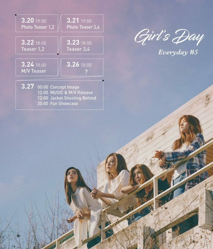 Datas Para As Futuras Novidades Do Girls' Day