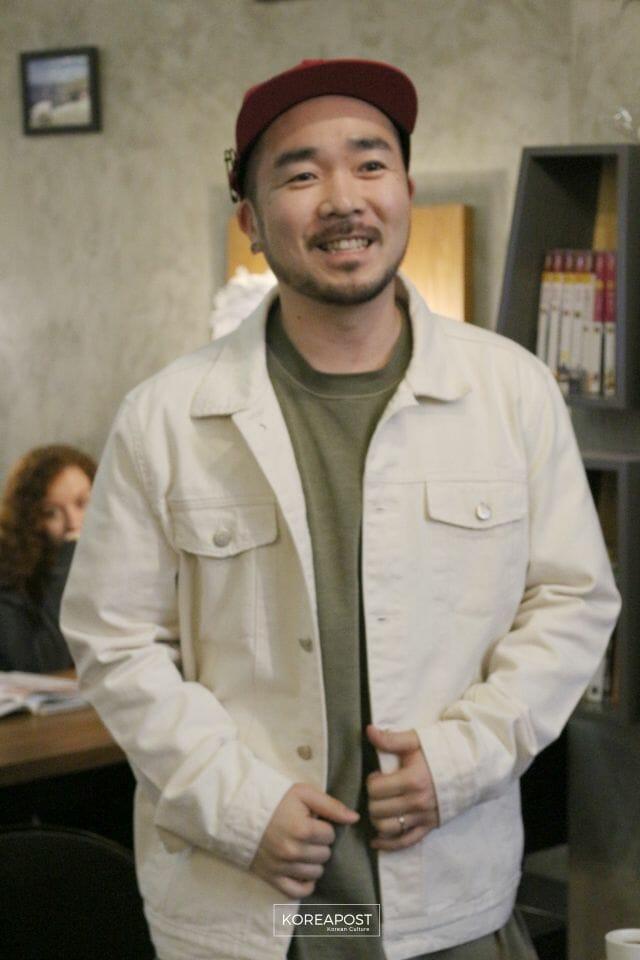 Son Sung-Deuk Na Coletiva De Imprensa Em Um Café Do Bom Retiro, Dia 18 De Março. Foto: Koreapost.