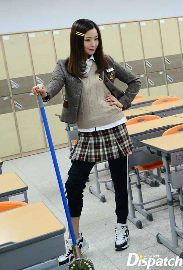 Kim Hee Sun, Para Angry Mom, Pela Dispatch