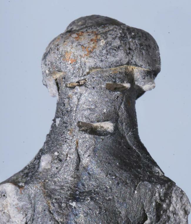 Esculturas De Argila, Descobertas No Sítio Arqueológico De Wolseong. Foto: The Korea Herald.