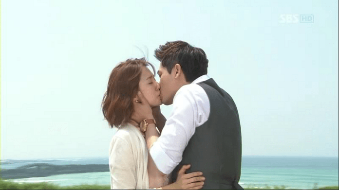 Yoon Eun Hye E Kang Ji Hwan Numa Cena Do Dorama Lie To Me. Foto: Dramafever