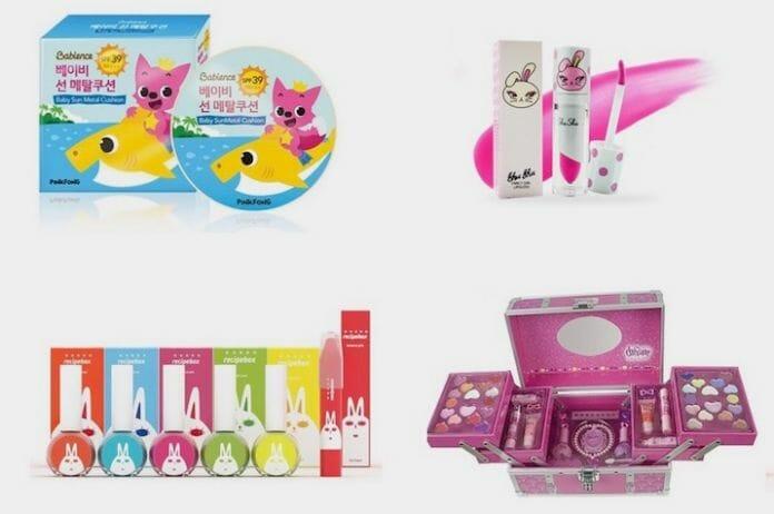 Exemplos De Produtos Para Crianças Que Vem Se Tornando Cada Vez Mais Populares Na Coreia Do Sul. Foto: Korea Exposé.
