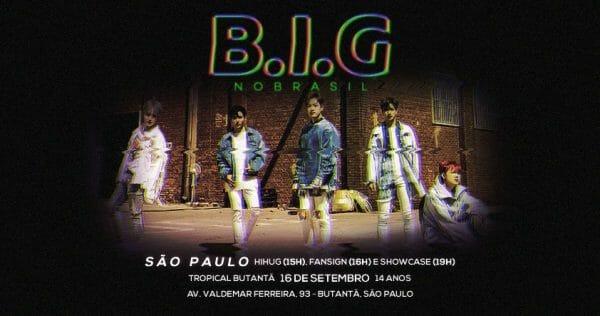 Vendas Para Os Eventos Do B.i.g No Brasil Começam Amanhã!!