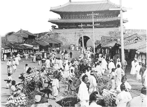 Mercado Namdaemun Em Seus Primórdios. Foto: Namdaemunmarket.co.kr