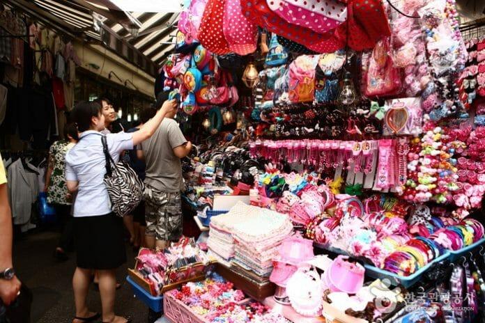 Barraca No Mercado Namdaemun. Foto: Korea Tourism Organization