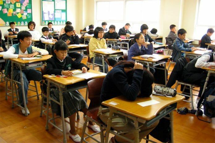 Estudantes Do Secundário Durante Uma Aula. (Crédito: Samuel Orchard/Wikipedia Commons)