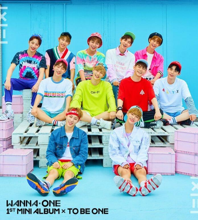 'To Be One', Primeiro Mini-Álbum Do Wanna One. Imagem: Ymc Entertainment/ Cj&Amp;Em.