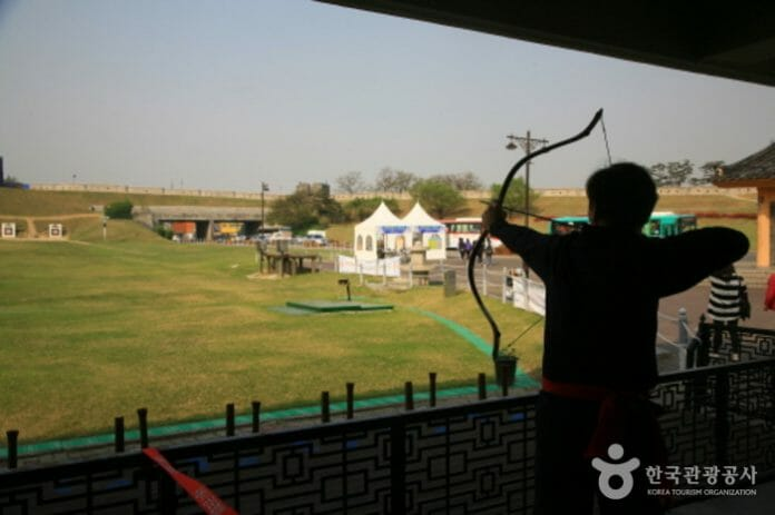 Arco E Flecha Tradicionais. Foto: Korea Tourism Organization.