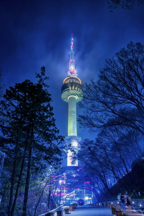 Seoul Tower. Foto: Visit Korea.