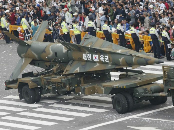 South-Korea-Displays-Missile-Capable-Of-Hitting-Any-Target-In-North-Korea