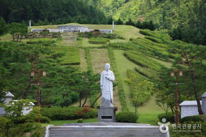 Local De Nascimento De Non-Gae. Fonte: Visitkorea