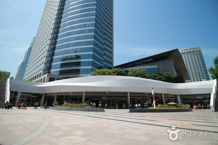 The Coex Building. Foto: Visit Korea