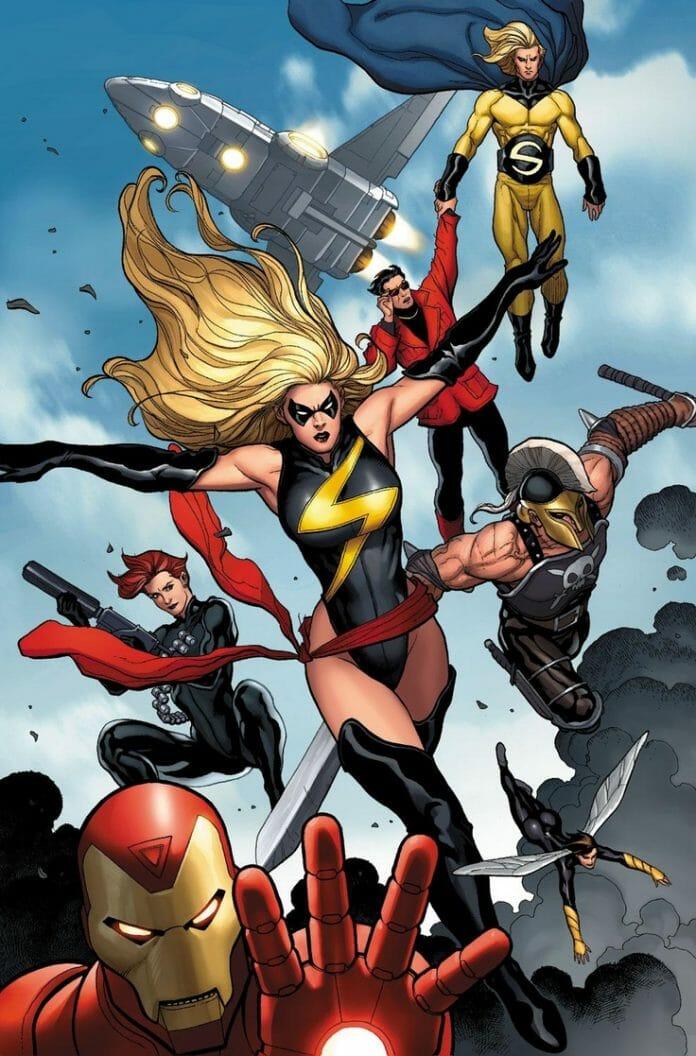 The Mighty Avengers Também É Um Trabalho De Frank Cho. Foto: Piming