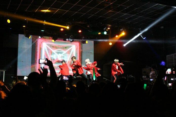 O Boygroup B.i.g Apresenta Aphrodite No Tropical Butantã, Dia 16 De Setembro, Em São Paulo. Imagem: Koreapost.