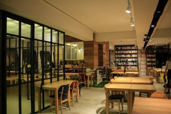 Interor Do May Island Cafe. Foto: Korea Or Something