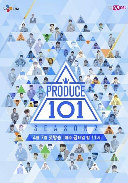 Pôster Do Produce 101, Programa Que Marcou O Boom Da Popularidade Dos Survivals Coreanos. Foto: Mnet