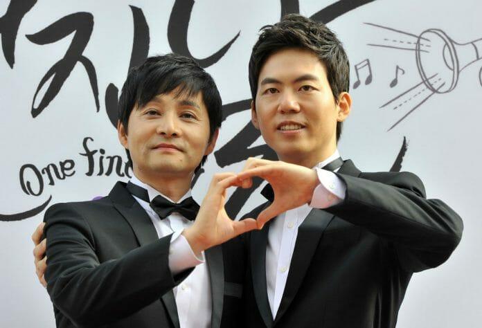 Kim Jho Kwang-Soo E Kim Seung-Hwan. Foto: Pinterest