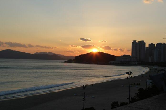 Praia Haeundae, Busan / Foto: Visit Korea