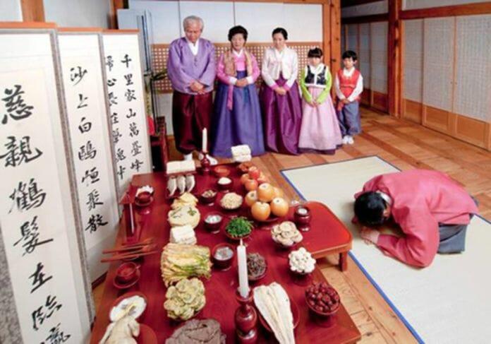 Cena Do Ritual De Homenagem Aos Antepassados, Charye. Foto: Bao Moi