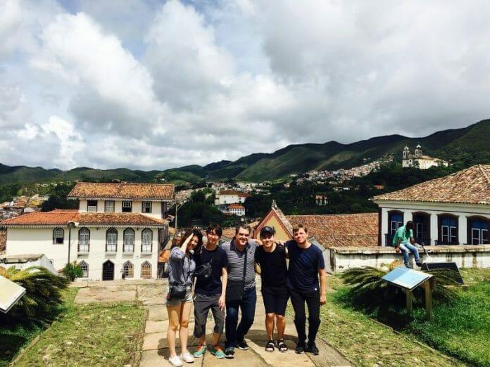 Jusco, Em Seu Programa De Intercãmbio, Em Ouro Preto.