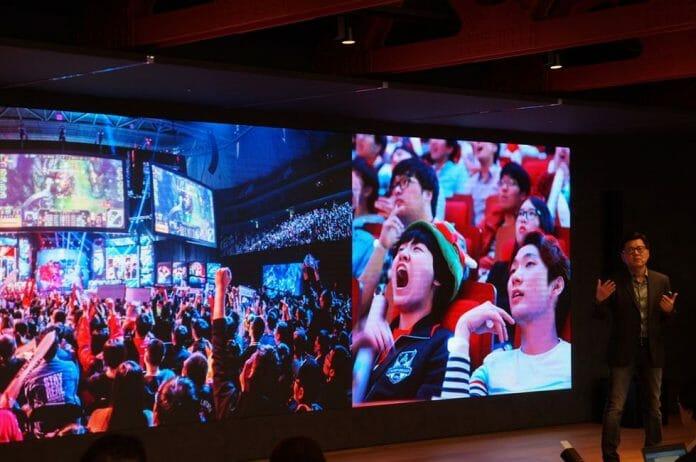 Lee Seung-Hyun, Presidente Da Riot Games No Anúncio Da Constrição Do Estádio Dedicado Aos E-Sports. Foto: Riot Games