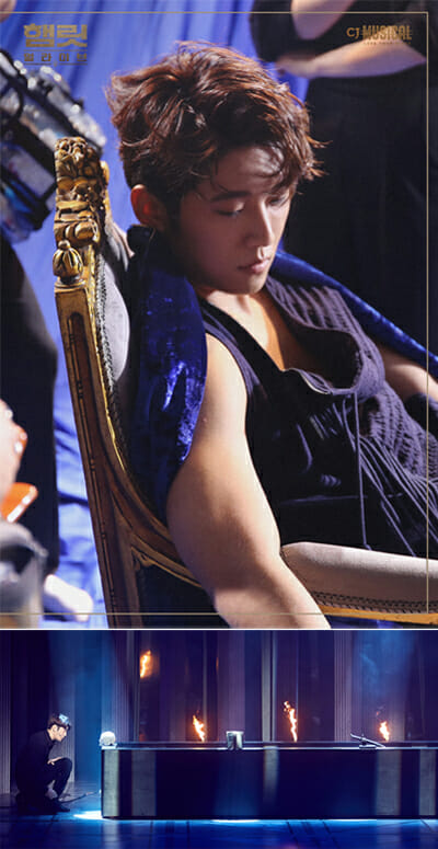 Acima, O Pôster De Hamlet Alive, Abaixo, Eun-Sung Atuando Como Hamlet. Foto: Cj E&Amp;M