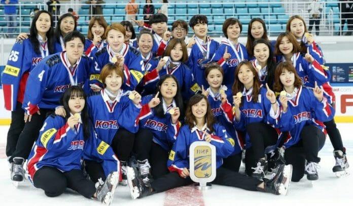 Seleção Feminina Sul-Coreana De Hóquei No Gelo. Foto: The Hankyoreh