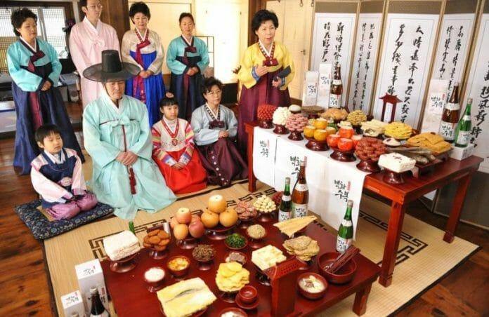 Representação Dos Costumes Tradicionais Do Seollal. Imagem: Soha